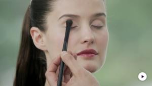 Dr.Hauschka tutorial: Bold Eyeliner